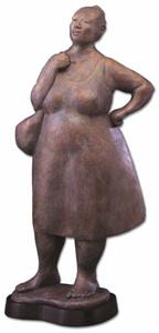 Soledad primary market bronze sculpture by Martha Pettigrew