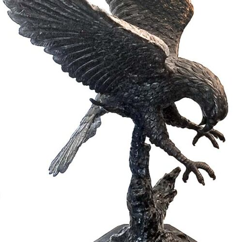 Jules Moigniez 'Eagle Sculpture'