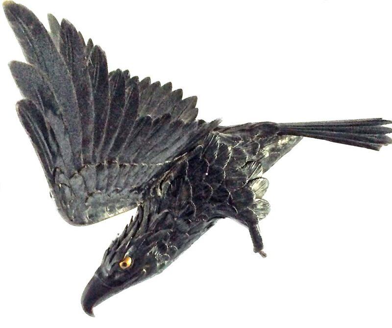 Meiji 'Eagle Sculpture'