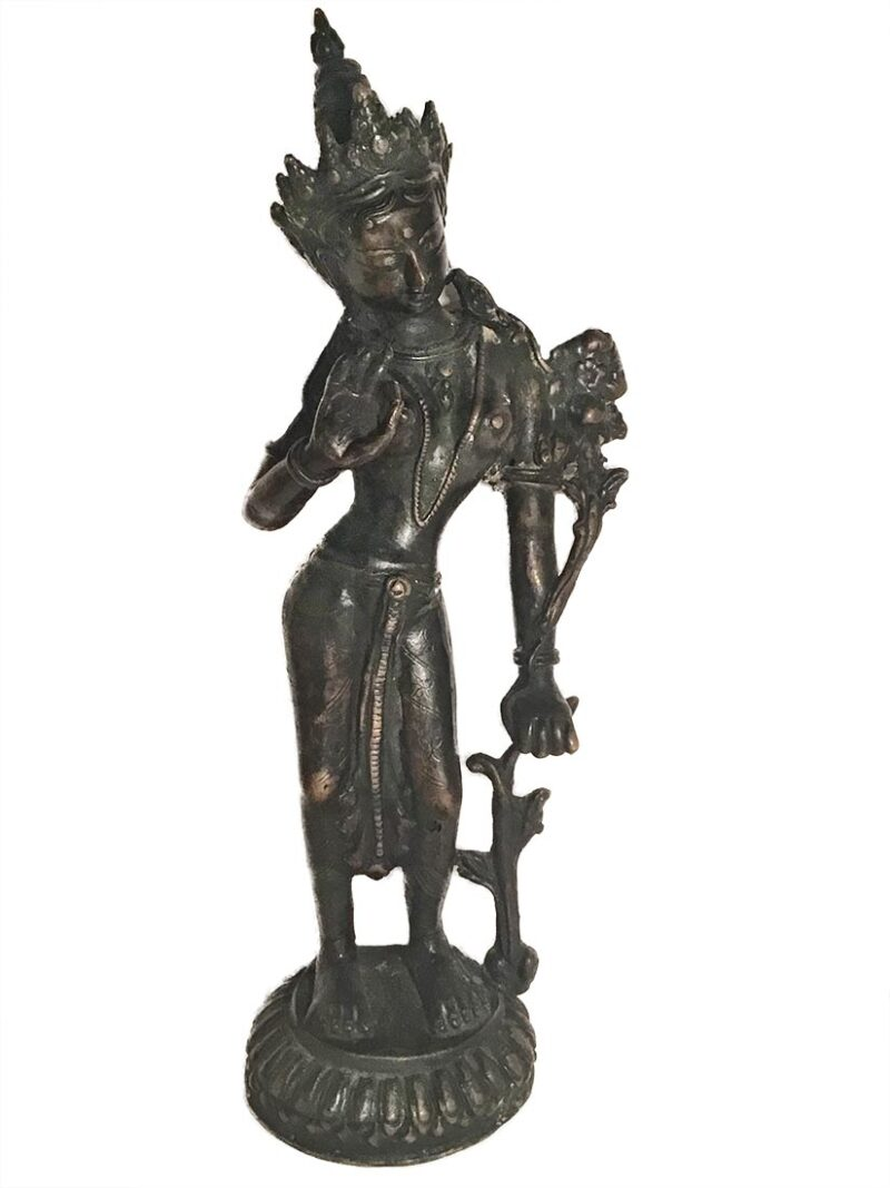 """Unknown """"Asian Statue"""" bronze Sculpture for Sale at Sculpture Collector"""