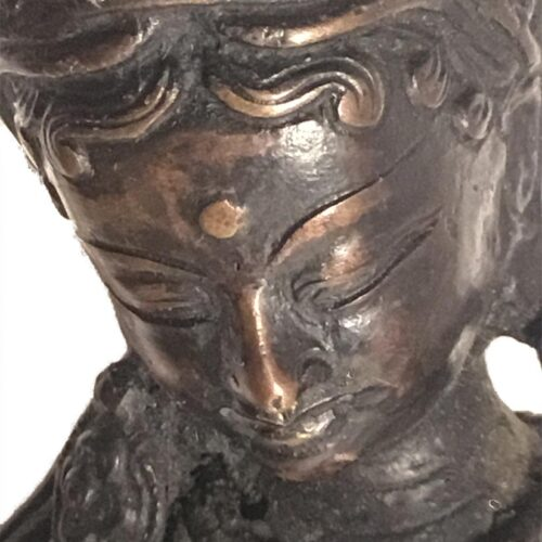 "Unknown ""Asian Statue"" bronze Sculpture for Sale at Sculpture Collector"
