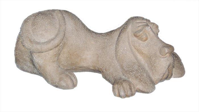 Alexander Danel for Austin Sculptures a Bassett Hound sculpture for sale on Sculpture Collector