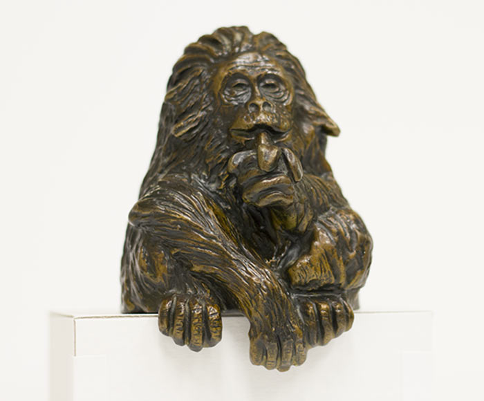 Carl Wagner, 'Clyde' the Gorilla