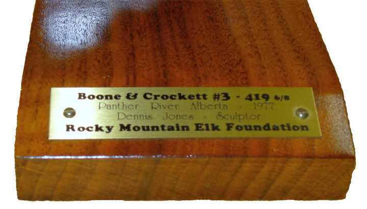 Dennis Jones 'Boone & Crockett #3'