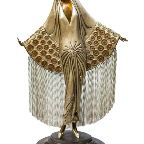 Erte - Beloved - bronze sculpture now available for purchase at Sculpture Collector