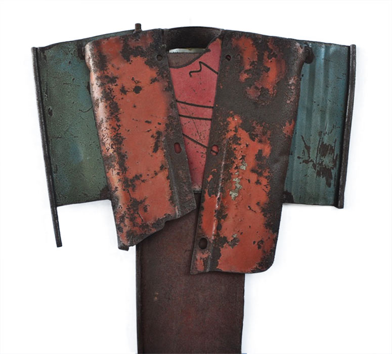 Small Kimono 1975 a unique sculpture by Gordon Chandler available now from Sculpture Collector