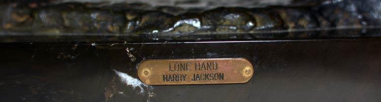 Harry Jackson 'Lone Hand'