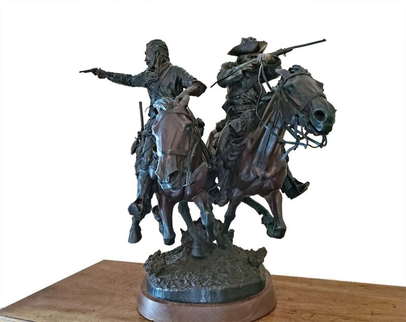 June 25, 1876 a Bronze Allegorical Art sculpture by James Muir SOLD at Sculpture Collector in 5 days. James Muir known as the Father of Allegorical Art