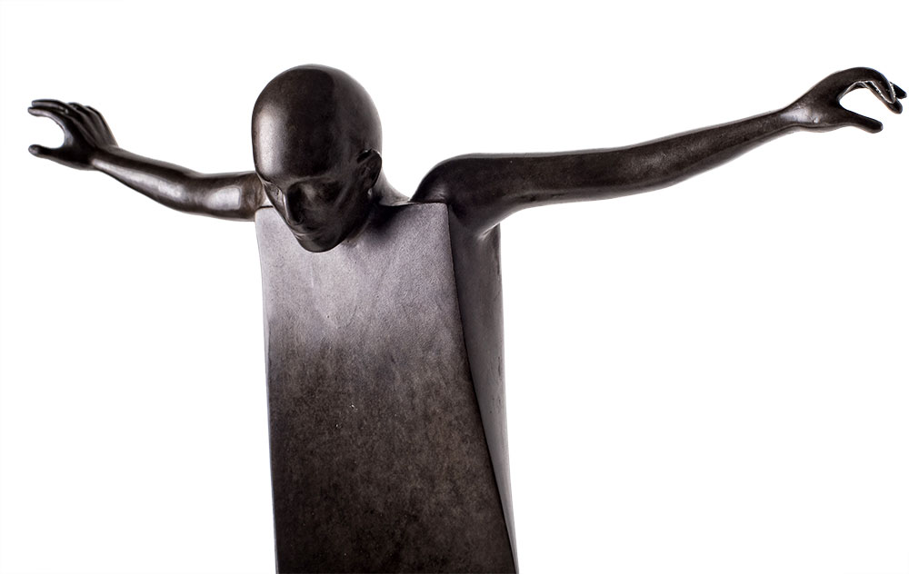 Funambule (tightrope walker) by Jean-Louis Corby available at Sculpture Collector
