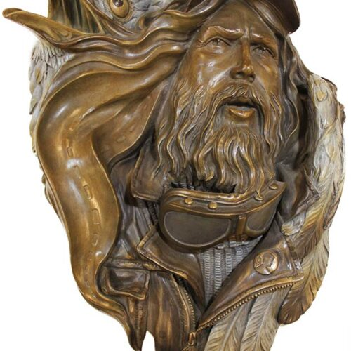John Soderberg Bronze Sculpture titled 'Highways' from the Easy Rider Collection available now at Sculpture Collector