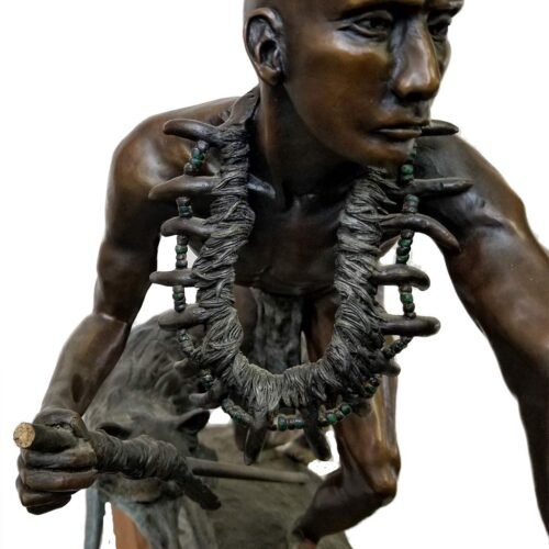 JR Eason bronze sculpture 'Mixed Blood'