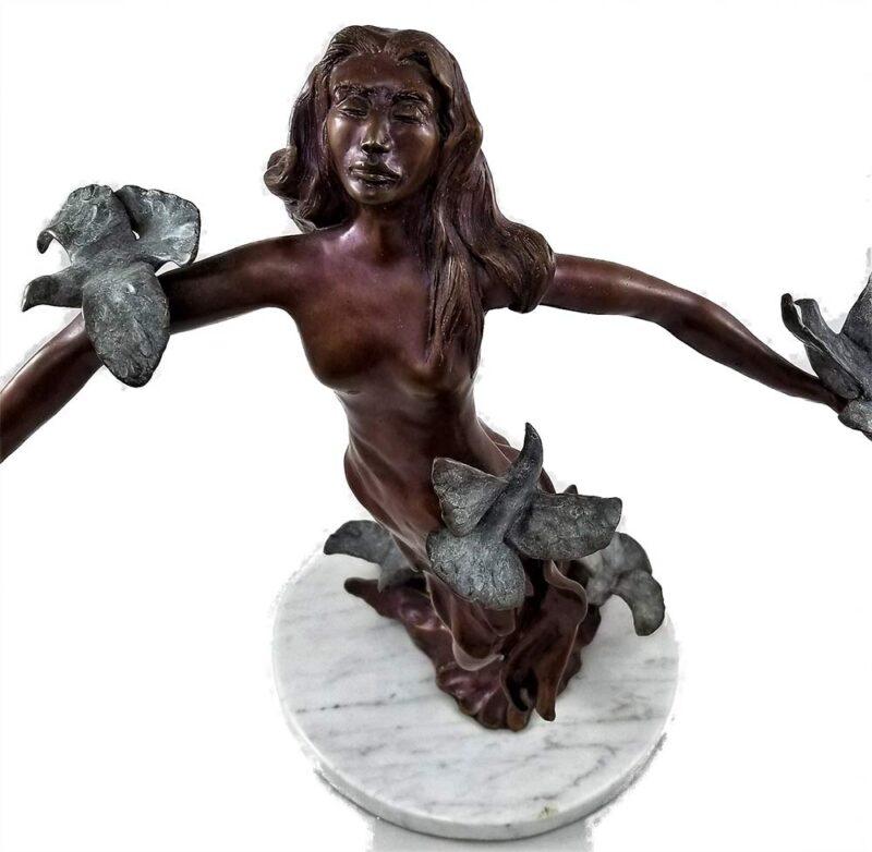 JR Eason bronze sculpture 'When Spirit Soars'