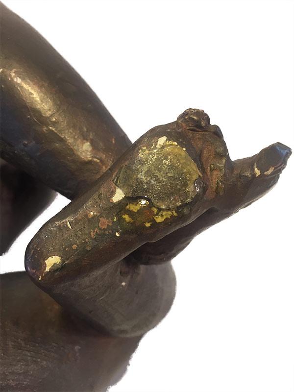 "Oronzio Maldarelli ""Bianca II"" bronze study sculpture available for sale at Sculpture Collector"