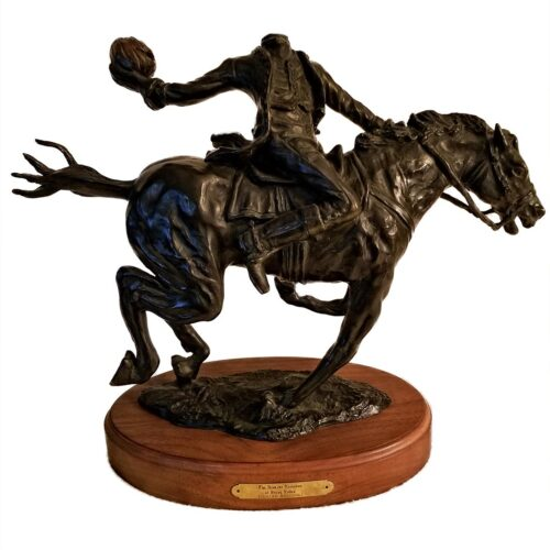 Richard Masloski created The Headless Horseman of Sleepy Hollow a famous and rare bronze Sculpture available now at Sculpture Collector