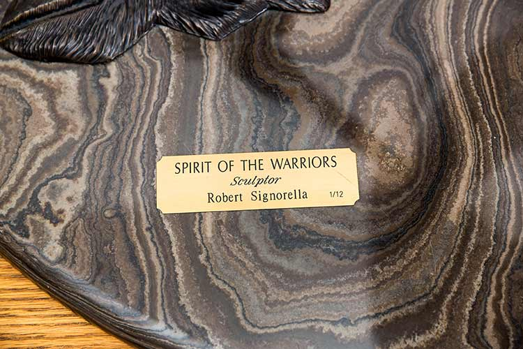 Robert Signorella 'Spirit of the Warriors'