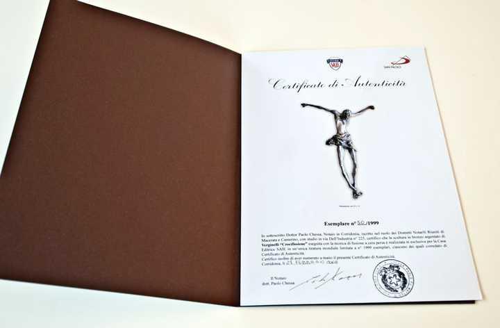 Sergio Verginelli 'Crucifixion'