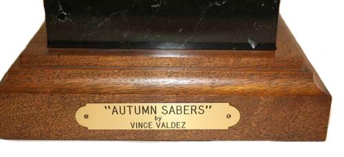 Vince Valdez 'Autumn Sabers'