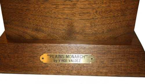 Vince Valdez 'Plains Monarch'