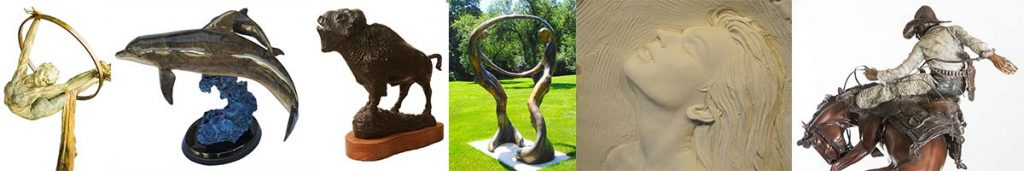 Sculpture of all types, shapes, and sizes at Sculpture Collector
