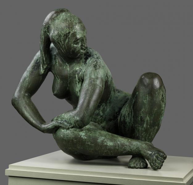 Oronzio Maldarelli, Bianca, No. 2, 1950-1952, bronze, Smithsonian American Art Museum, Museum purchase, 1969.165