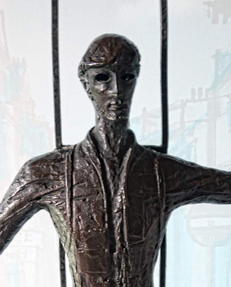 Dean Meeker, 'Le Vitrier' limited edition bronze sculpture