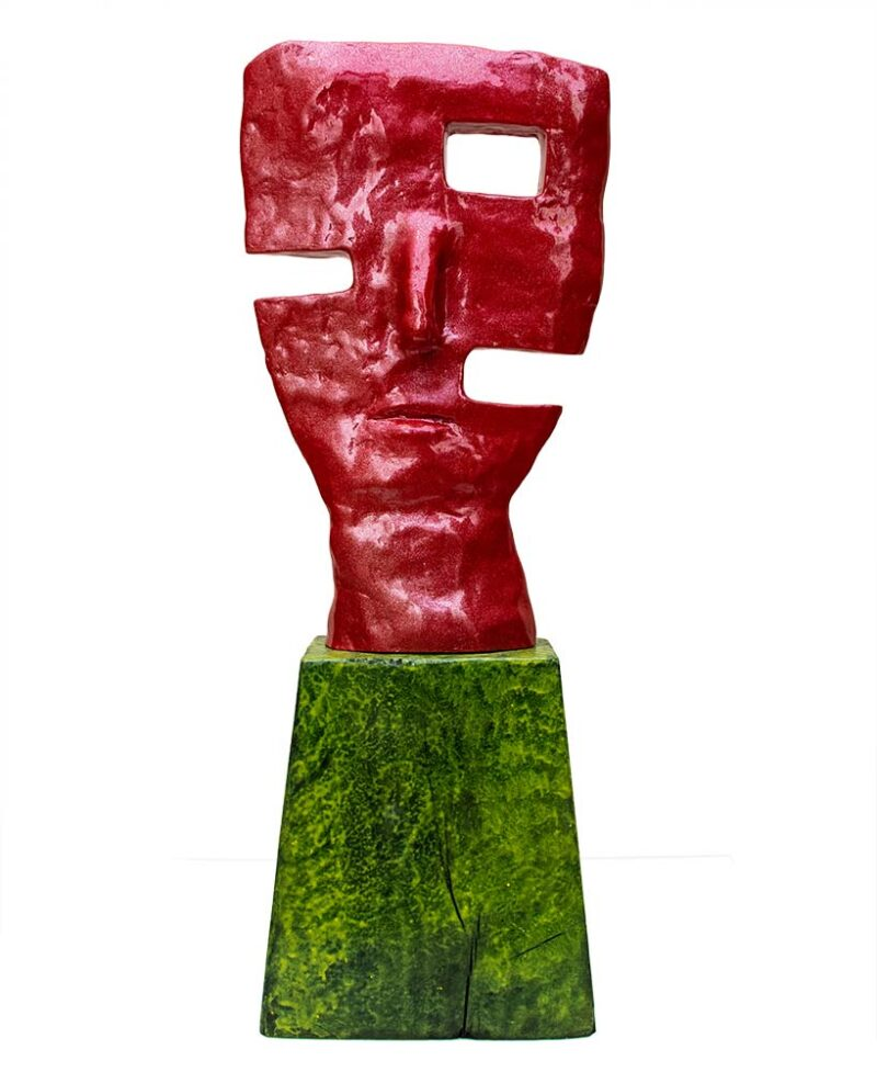 'Cyclop' a bronze limited edition sculpture by Nikolas