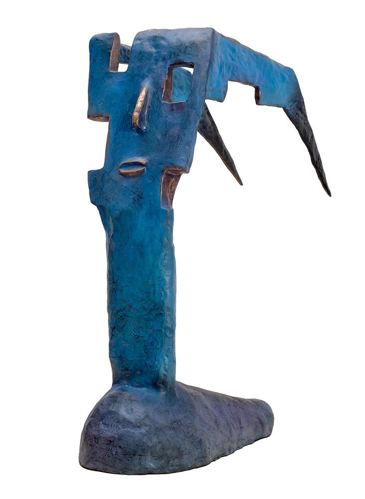 'Taxidi' a bronze limited edition sculpture by Nikolas.