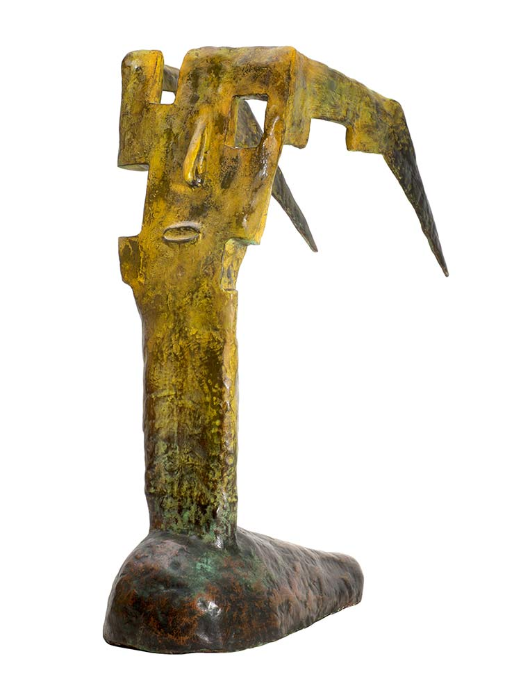'Taxidi' a bronze limited edition sculpture by Nikolas.