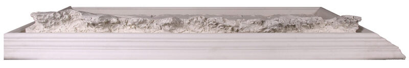 Bill Mack Contemplation bonded sand relief wall sculpture