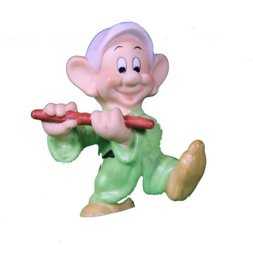 Dopey a sculpture in porcelain for Disney by Giuseppe Armani