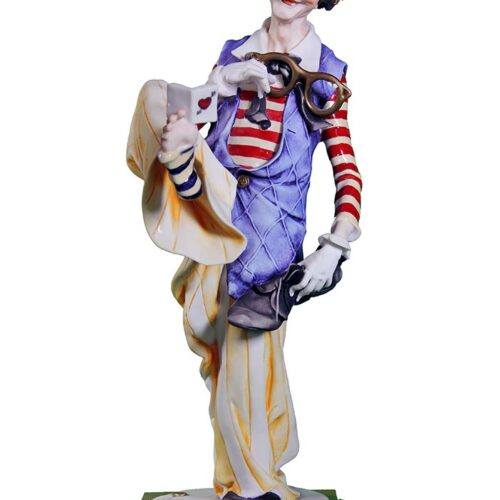 The Clown a porcelain sculpture by Giuseppe Armani for Disney