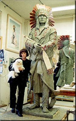 Marie Barbera Native American Sculptor