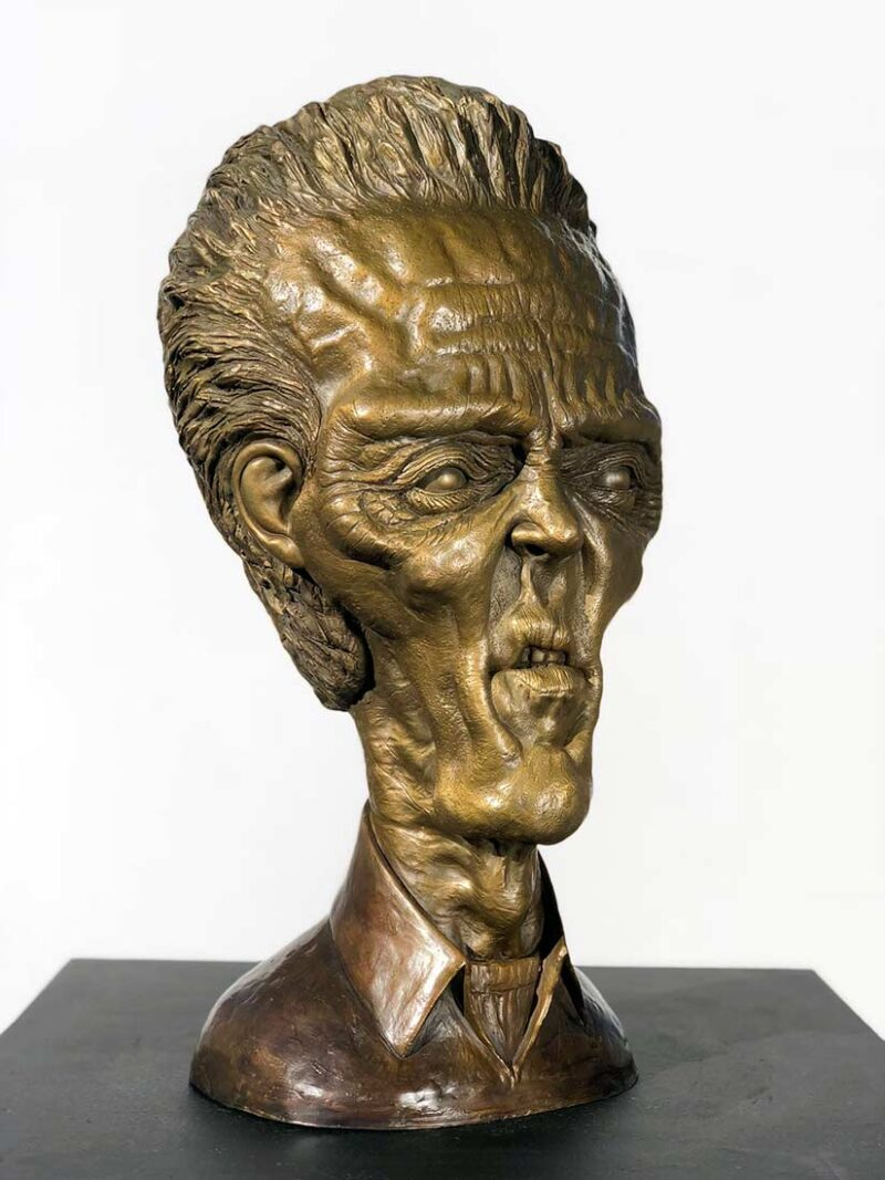 A Limited Edition Bronze Sculpture titled Walken by Chris Towle