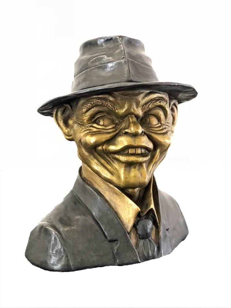 A Limited Edition Bronze Sculpture titled Frank by Chris Towle