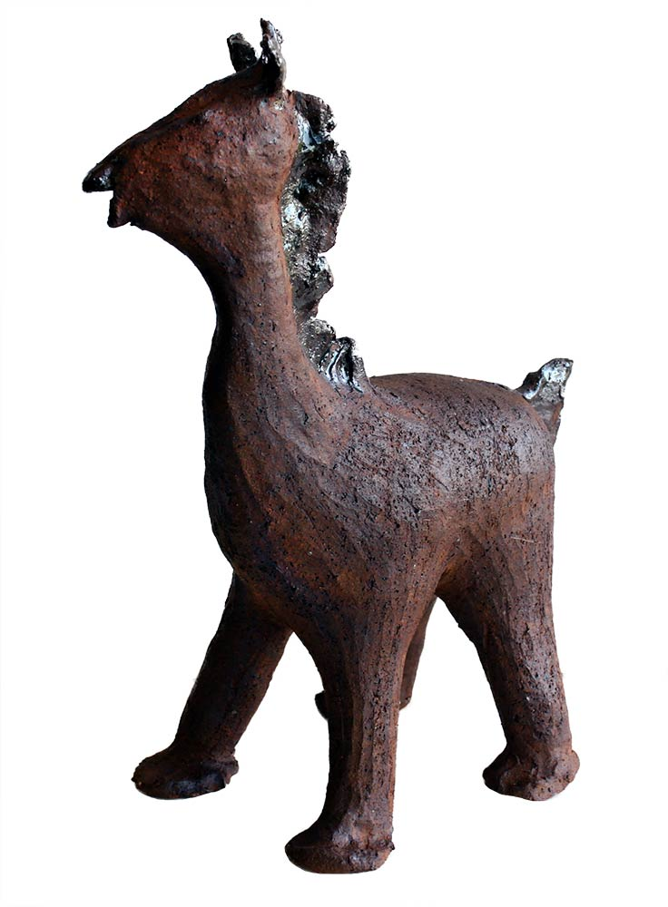 Stoneware, Horse No.3 a Ceramic by Peter Daniels
