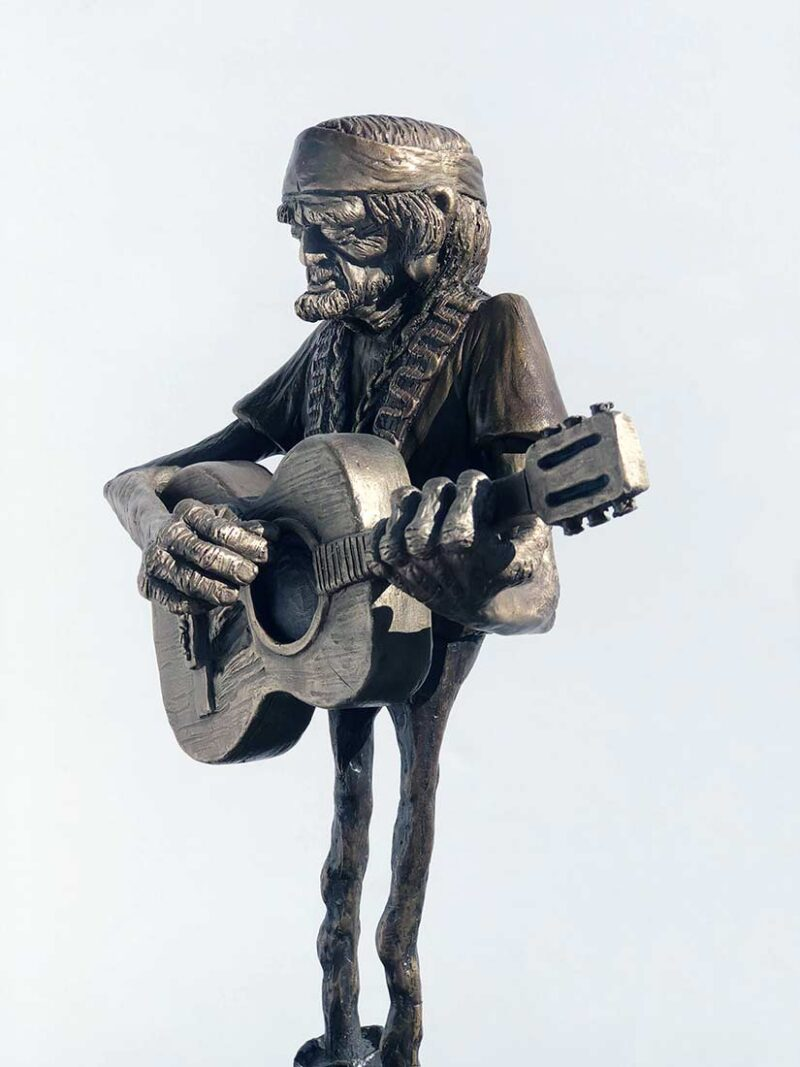 A Limited Edition Bronze Sculpture titled Willie by Chris Towle