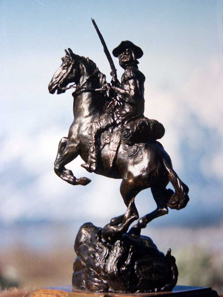 Dale M. Burr Yellowstone Park Sculptor Artist