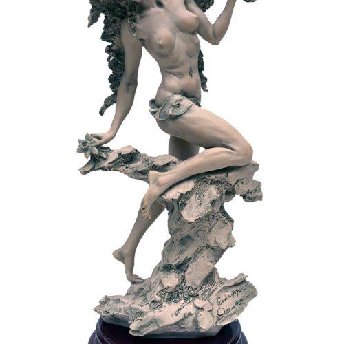 Lilia a sculpture by Giuseppe Armani a porcelain figurine