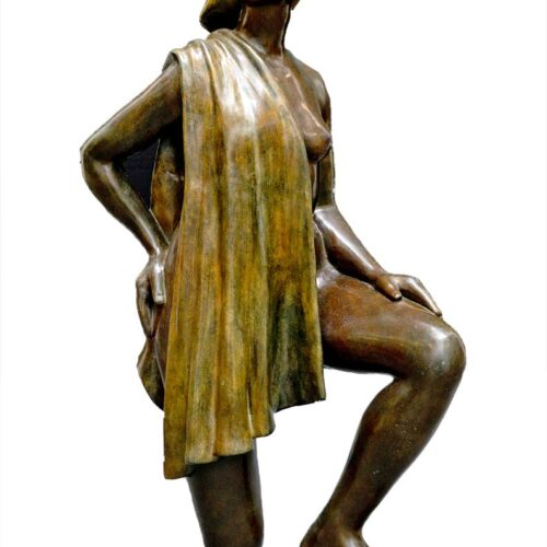 Shirley Thomson-Smith figurative bronze sculpture Mahogany