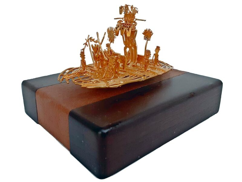 Luis Alberto Cano - The Musica Raft - 24K Gold Plate