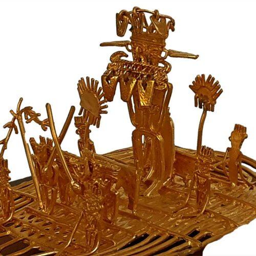 Luis Alberto Cano – The Musica Raft – 24K Gold Plate