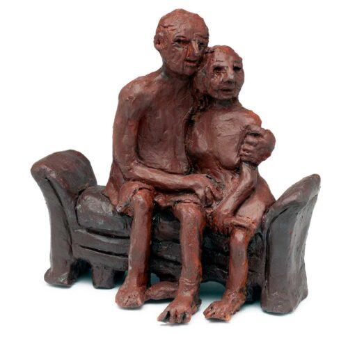 Quarantined a unique bronze sculpture by Ellen Coffey
