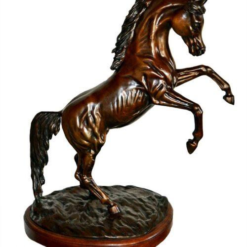 Robert Larum - bronze limited edition Arabian equine sculpture Majestic Pride