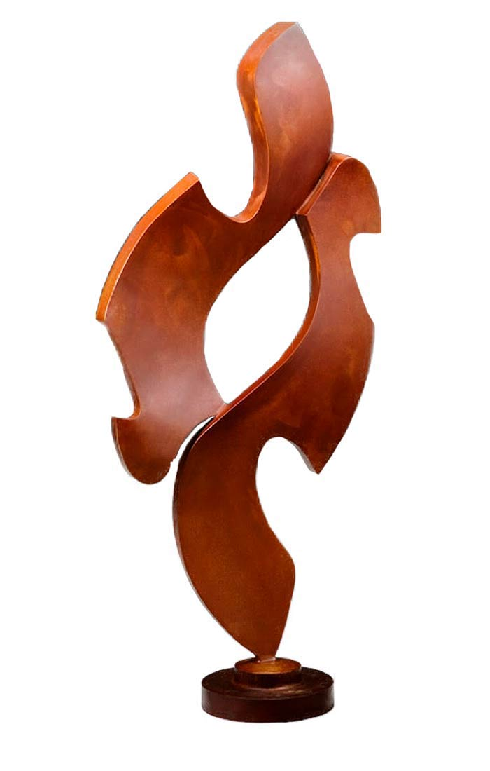 Tom Walsh - hand built bronze sculpture untitled