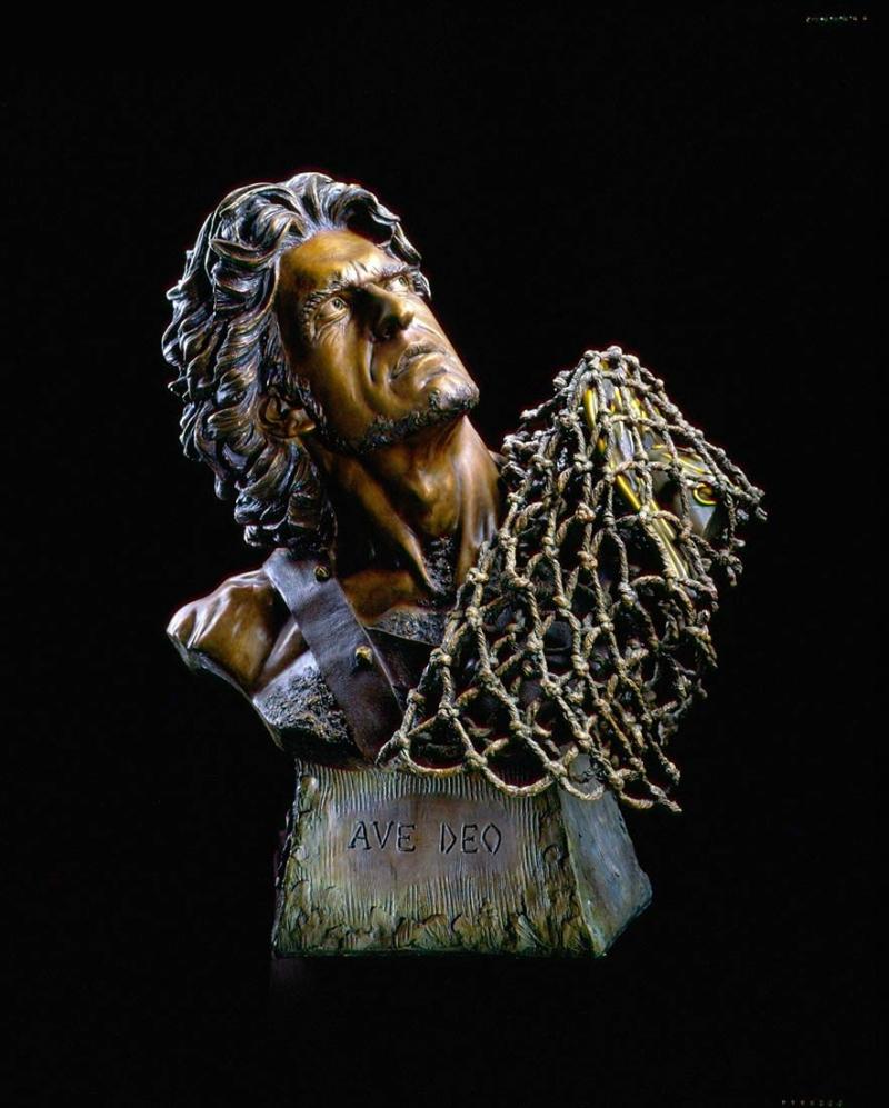 James Muir 'Gladiator's I and II (pair)' - 'Gladiator I - Ave Caesar'(Hail God!) - 'Gladiator II - Ave Deo' (Hail God!)